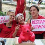 solidarietà in Piazza Tasso